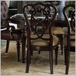 ADD TO YOUR SET: Stanley Furniture City Club Racket Club Scroll Side Chair in Blair