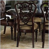 Stanley Furniture City Club Racket Club Scroll Side Chair in Blair