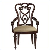 Stanley Furniture City Club Racket Club Scroll Arm Chair in Blair