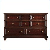 Stanley Furniture City Club Triple Dresser in Blair