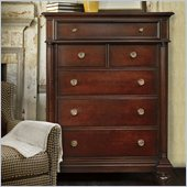 Stanley Furniture City Club Oxford Six Drawer Chest in Blair