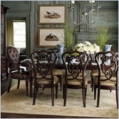 Stanley Furniture City Club Days Feast Oval 9 Piece Dining Set in Blair