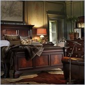 Stanley Furniture City Club Barrister Bed 4 Piece Bedroom Set in Blair