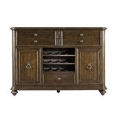 Stanley Furniture Portfolio Rustica Dining Sideboard Cabinet in Sorrel