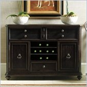 Stanley Furniture Portfolio Rustica Dining Sideboard Cabinet in Raven