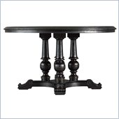 Stanley Furniture Portfolio Rustica Dining 54 Round Table in Raven