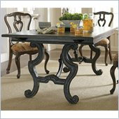 Stanley Furniture Portfolio Rustica Dining Harvest Table in Raven