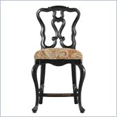 Stanley Furniture Portfolio Rustica Dining 24 Counter Stool in Raven