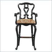 Stanley Furniture Portfolio Rustica Dining 30 Bar Stool in Raven