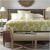 Stanley Furniture Coastal Living Resort Sunrise Sanctuary Sleigh Bed in Channel Marker