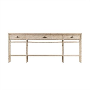 Stanley Coastal Living Resort Palisades Sofa Table in Sandy Linen