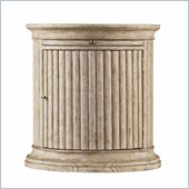 Stanley Furniture Coastal Living Resort Castaway Drum Table in Sandy Linen