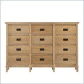 Stanley Furniture Coastal Living Resort Havens Harbor Triple Dresser in Sea Oat