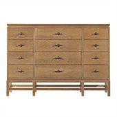 Stanley Furniture Coastal Living Resort Tranquility Isle Triple Dresser in Sea Oat