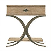 Stanley Furniture Coastal Living Resort Windward Dune End Table in Weathered Pier