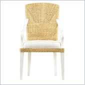 Stanley Furniture Coastal Living Resort Waters Edge Woven Arm Chair in Sail Cloth