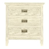 Stanley Furniture Coastal Living Resort Havens Harbor Night Stand in Sail Cloth
