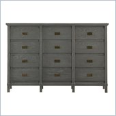 Stanley Furniture Coastal Living Resort Havens Harbor Triple Dresser in Dolphin