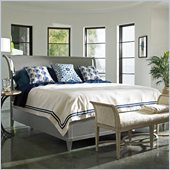 Stanley Furniture Coastal Living Resort Sunrise Sanctuary Sleigh Bed in Morning Fog