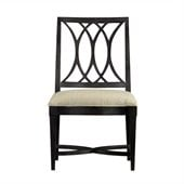 Stanley Furniture Coastal Living Resort Heritage Coast Side Chair in Stormy Night