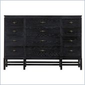 Stanley Furniture Coastal Living Resort Tranquility Isle Triple Dresser in Stormy Night