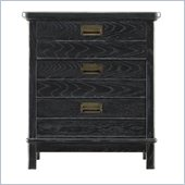 Stanley Furniture Coastal Living Resort Cape Comber Chairside Chest in Stormy Night