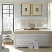 Stanley Furniture Coastal Living Resort Cape Comber Panel Bed 2 Piece Bedroom Set in Sail Cloth / Morning Fog