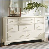 Stanley Furniture Coastal Living Cottage Getaway Triple Dresser in Shell