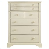 Stanley Furniture Coastal Living Cottage 7 Drawer Chest in Shell