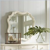 Stanley Furniture Coastal Living Cottage Piecrust Mirror in Shell