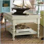 Stanley Furniture Coastal Living Cottage Sand Box Cocktail Table in Shell