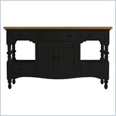 Stanley Furniture Coastal Living Cottage Buffet with Boardwalk Top in Deepwater