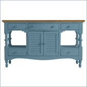 Stanley Furniture Coastal Living Cottage Buffet with Boardwalk Top in Wave