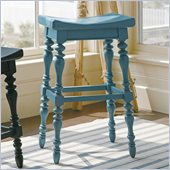 Stanley Furniture Coastal Living Cottage 5 OClock Somewhere Bar Stool in Wave