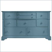 Stanley Furniture Coastal Living Cottage Getaway Triple Dresser in Wave