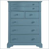 Stanley Furniture Coastal Living Cottage 7 Drawer Chest in Wave