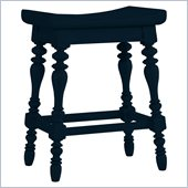 Stanley Furniture Coastal Living Cottage 5 OClock Somewhere Counter Stool in Navy