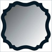Stanley Furniture Coastal Living Cottage Piecrust Mirror in Navy