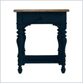 Stanley Furniture Coastal Living Cottage Lamp Table in Navy