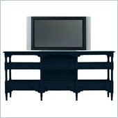 Stanley Furniture Coastal Living Cottage Reunion Console in Navy