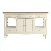 Stanley Furniture Coastal Living Cottage Buffet with Boardwalk Top in Sand Dollar