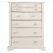 Stanley Furniture Coastal Living Cottage 7 Drawer Chest in Sand Dollar