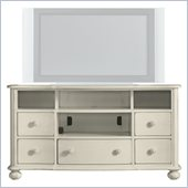 Stanley Furniture Coastal Living Cottage TV Console in Sand Dollar