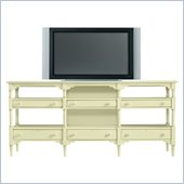 Stanley Furniture Coastal Living Cottage Reunion Console in Sea Grass