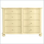 Stanley Furniture Coastal Living Cottage Weekend Double Dresser in Lemon Twist