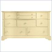 Stanley Furniture Coastal Living Cottage Getaway Triple Dresser in Lemon Twist