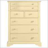 Stanley Furniture Coastal Living Cottage 7 Drawer Chest in Lemon Twist