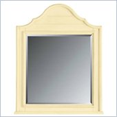 Stanley Furniture Coastal Living Cottage Arch Top Mirror in Lemon Twist