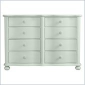 Stanley Furniture Coastal Living Cottage Weekend Double Dresser in Morning Sky
