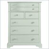 Stanley Furniture Coastal Living Cottage 7 Drawer Chest in Morning Sky